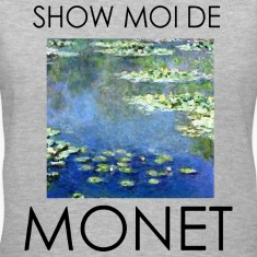 show moi de monet Women's T-Shirts