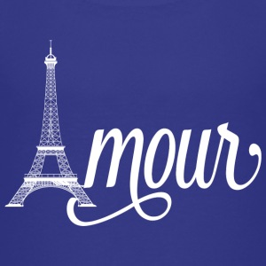 amour paris - love in french Kids' Shirts - Kids' Premium T-Shirt