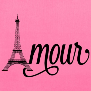 amour paris - love in french Bags & backpacks - Tote Bag