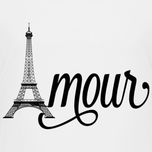 amour paris - love in french Baby & Toddler Shirts - Toddler Premium T-Shirt
