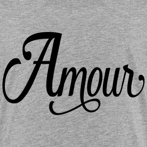 amour - love in french Kids' Shirts - Kids' Premium T-Shirt