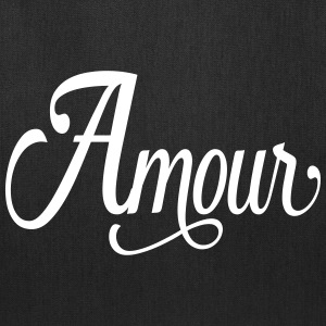 amour - love in french Bags & backpacks - Tote Bag