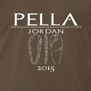 T-shirt for the 2015 season of excavations at Pell - Men's Premium T-Shirt