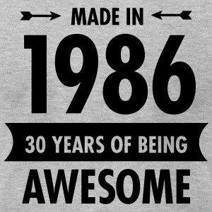 Made In 1986 - 30 Years Of Being Awesome T-Shirts - Men's T-Shirt by American Apparel