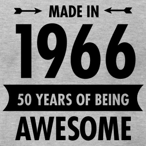 Made In 1966 - 50 Years Of Being Awesome T-Shirts - Men's T-Shirt by American Apparel