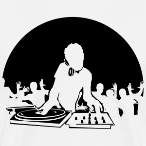 DJ Moon Shirt - Men's Premium T-Shirt