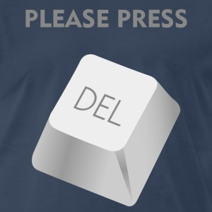Please press delate Shirt - Men's Premium T-Shirt