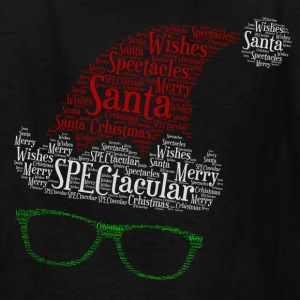 SPECtacular Santa with fashion specs patjila2 Kids' Shirts - Kids' T-Shirt