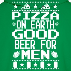 Pizza On Earth Ugly Shirt Hoodies
