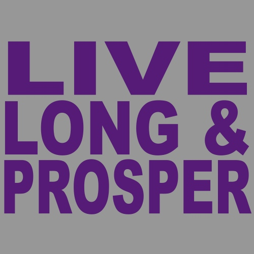 Live long & Prosper t-shirt design