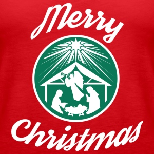Merry Christmas Starbucks - Women's Premium Tank Top
