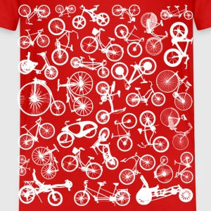 bike bikes cycling Baby & Toddler Shirts - Toddler Premium T-Shirt