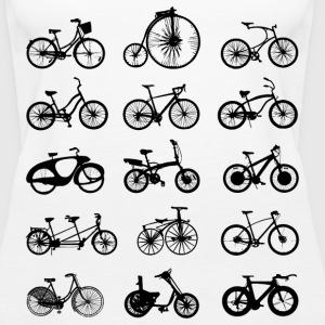 bike bikes Bicycle cycle Tanks - Women's Premium Tank Top