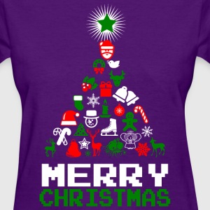 Ornament Merry Christmas Tree Women's T-Shirts - Women's T-Shirt