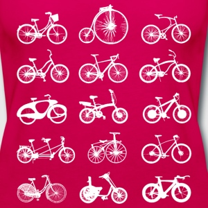 bi cycle lovers Tanks - Women's Premium Tank Top