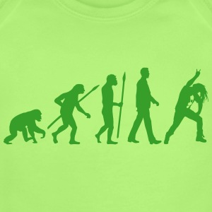 evolution_metal_fan_headbanger_112015_b_ Baby Bodysuits - Short Sleeve Baby Bodysuit