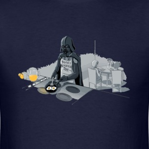 Star Wars Darth Vader is a good dad - Men's T-Shirt