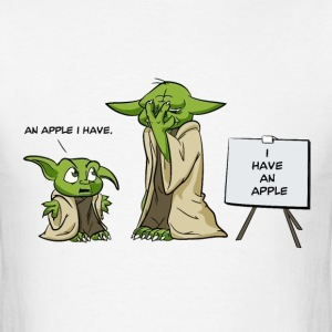 Yoda is a grammar nazi - Men's T-Shirt