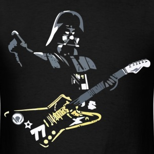 Funny Star Wars Darth Vader guitar player - Men's T-Shirt