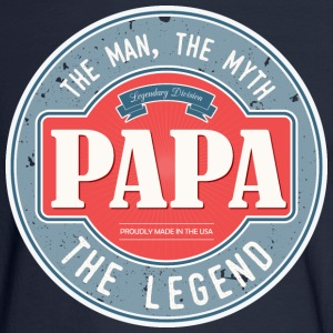 Papa - Man, Myth Legend - Men's Long Sleeve T-Shirt
