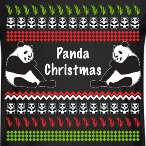 Panda Christmas Ugly Sweater Long Sleeve Shirts - Men's Long Sleeve T-Shirt
