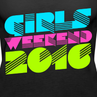 Design ~ Retro Girl's Weekend 2016 bachelorette party