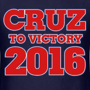 Ted Cruz to Victory 2016 - Men's T-Shirt