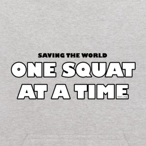 One Squat At A Time (kids) - Kids' Hoodie