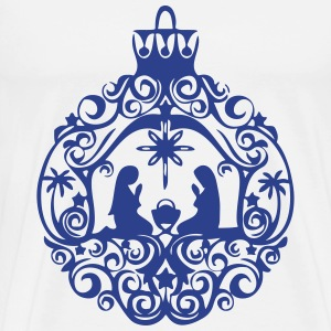 Nativity Scene - Men's Premium T-Shirt
