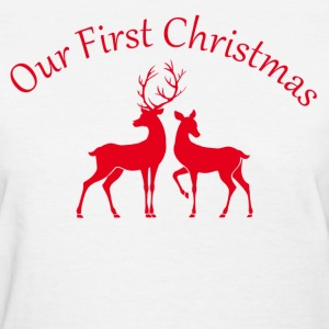 our first christmas Women's T-Shirts - Women's T-Shirt