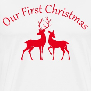 our first christmas T-Shirts - Men's Premium T-Shirt
