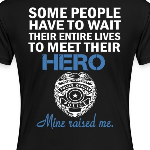 POLICE OFFICER'S DAUGHTER - Women's Premium T-Shirt
