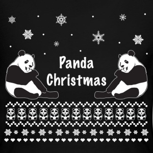 Panda Christmas Cute Ugly Sweater Long Sleeve Shirts - Women's Long Sleeve Jersey T-Shirt
