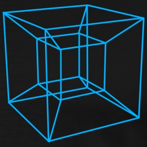 Tesseract Shirt [Mens] - Men's Premium T-Shirt