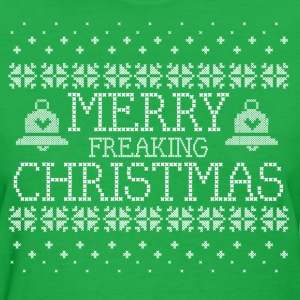 Merry Freaking Christmas Women's T-Shirts - Women's T-Shirt