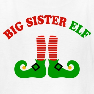 Big Sister Elf Kids' Shirts - Kids' T-Shirt