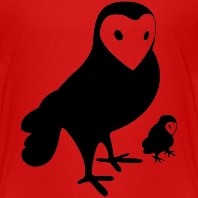 Owl Toddler Tee
