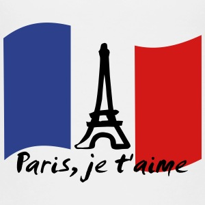 Paris, je t'aime - France Kids' Shirts - Kids' Premium T-Shirt