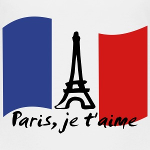 Paris, je t'aime - France Baby & Toddler Shirts - Toddler Premium T-Shirt