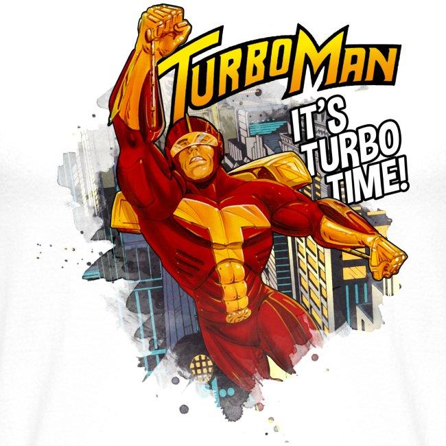 Turbo Man Baseball Tee | Baseball T-Shirt