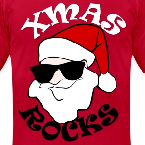 Christmas Rocks! - Men's T-Shirt by American Apparel