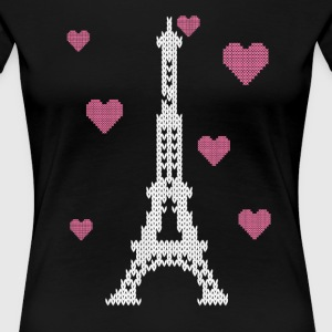 I LOVE PARIS Women's T-Shirts - Women's Premium T-Shirt