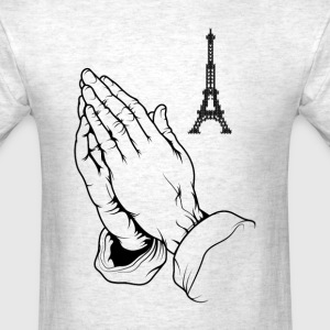 Pray For Paris T-Shirts - Men's T-Shirt