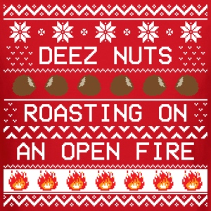 Roasting Deez Nuts Ugly Sweater - Crewneck Sweatshirt