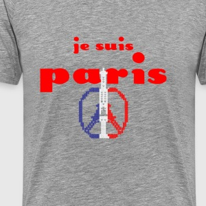 Je Suis Paris T-Shirts - Men's Premium T-Shirt