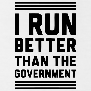 I RUN BETTER THAN THE GOVERNMENT Bottoms - Leggings by American Apparel