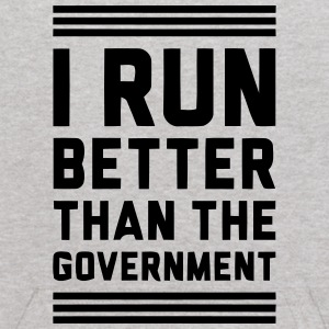 I RUN BETTER THAN THE GOVERNMENT Sweatshirts - Kids' Hoodie