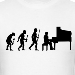 Evolution Piano - Men's T-Shirt