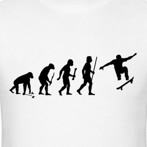 Evolution of Skateboarding - Men's T-Shirt