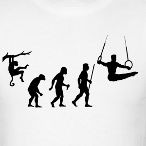 Evolution of Gymnastics - Men's T-Shirt